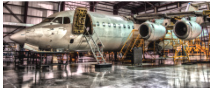 NDT is an integral part of aircraft maintenance.